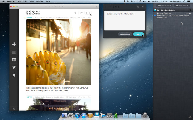 Day One (Journal/Diary) - Mac OS X
