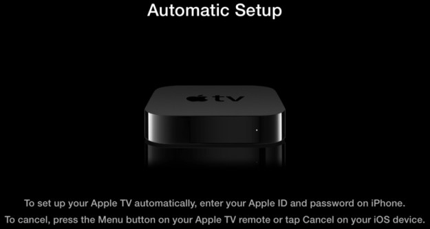 Apple TV - autosetup