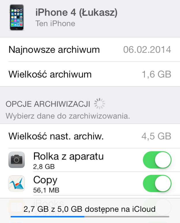 Archiwum iCloud