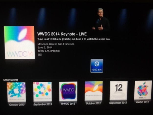 WWDC 2014 – Apple TV