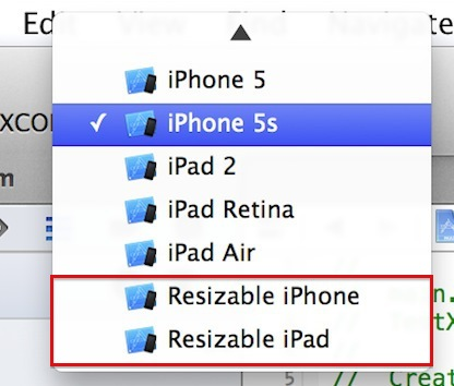 Xcode 6 – Resizable iPhone & iPad