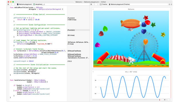 Swift – playgrounds