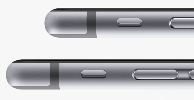 iPhone 6 and 6 Plus space gray side