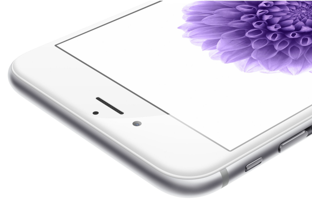 iPhone 6 silver flower