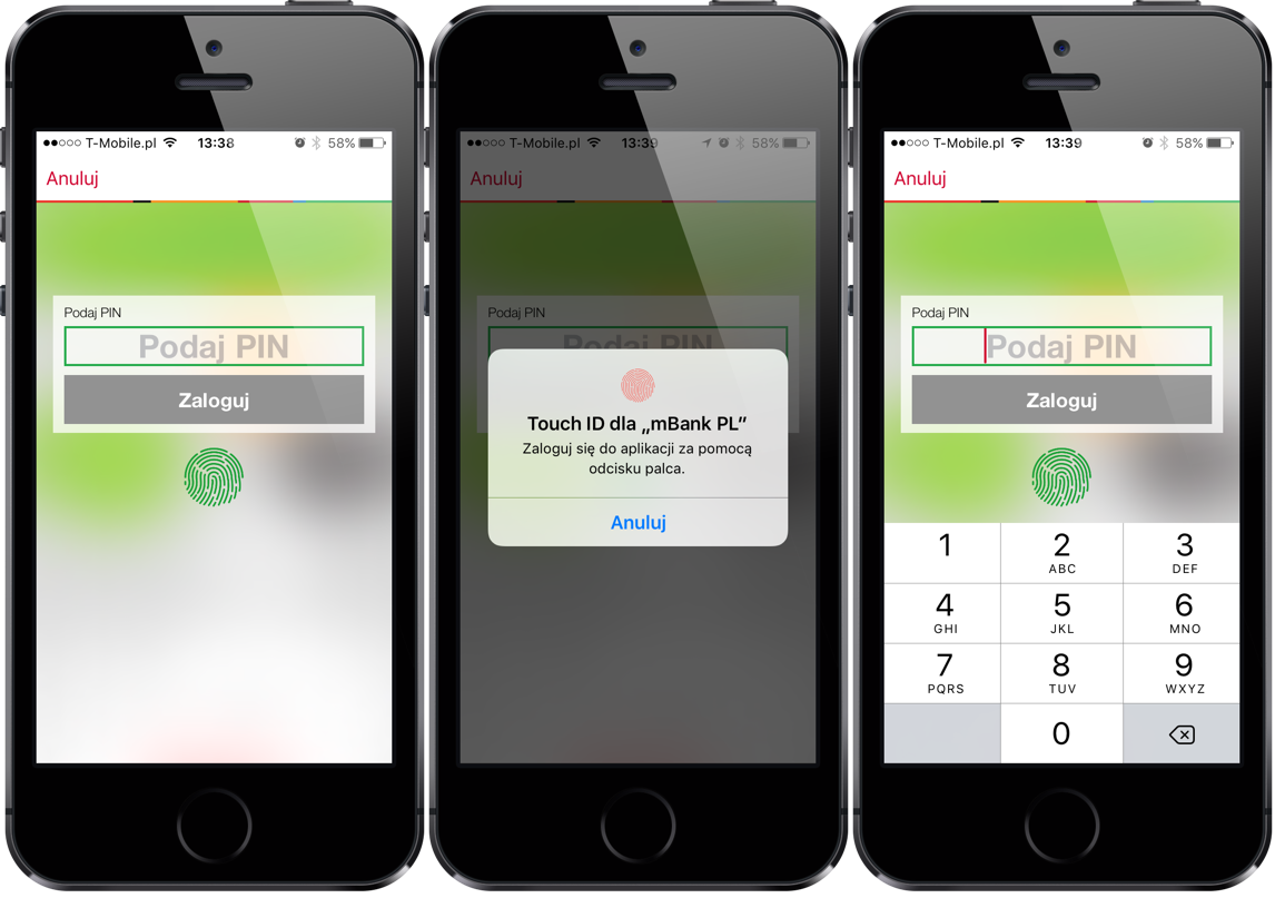 mBank - Touch ID