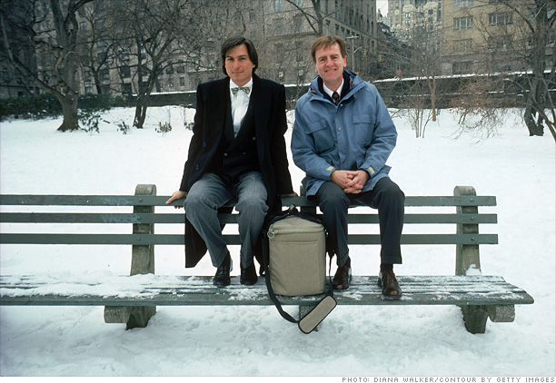 Steve Jobs i John Sculley