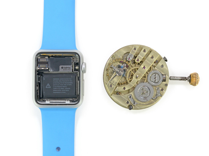 rozbiórka apple watch